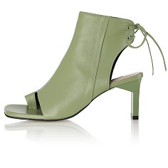 Boon Open Toe Boots / 20PF-B554 / OLIVE