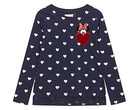 ★갭키즈 18년 HOLIDAY★ [키즈 여아 6-14세] 미니 하트 패턴 티셔츠