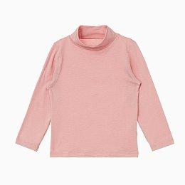 자주 온 아동 터틀넥 티셔츠_핑크