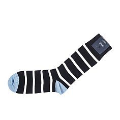 Breton Rib Socks 코기 브레통 립 삭스