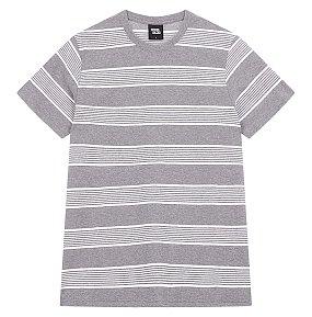 자카드 스트라이프 티셔츠