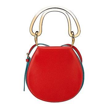 [슈스스 한혜연 추천]핸들 포인트 라운드 크로스백 (EL VILLE Saddle bag)
