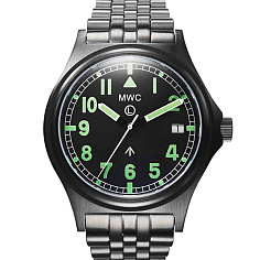 엠더블유씨 G10 30기압 방수 영국군 시계 PVD - 메탈