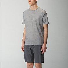 CEVIAN SS SHIRT (STONE HEATHER) 아크테릭스 베일런스 세비안 SS 셔츠