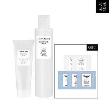 [컴포트존] 모공청소 세트 (토너 + 스크럽)
