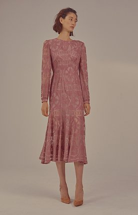 Iroka Dress(PINK)