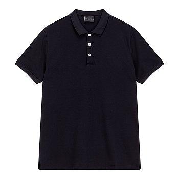 이글 로고 솔리드 피케 셔츠