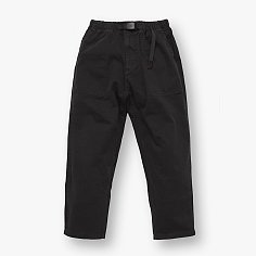 LOOSE TAPERED PANTS BLACK 그라미치 루즈 테이퍼드 팬츠