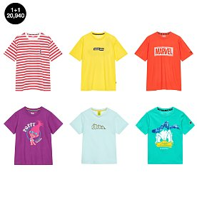 [DU] 콜라보 티셔츠 1+1