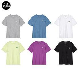 [DU] 심플 그래픽 티셔츠 1+1