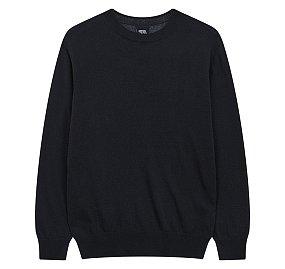 캐시미어 블렌드 크루넥 스웨터