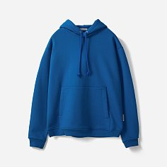 HEAVY WEIGHT PULLOVER HOODIE (Premium BASIC)-EXTRA BLUE