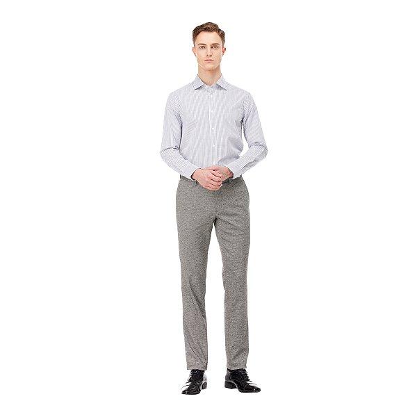 [FORMAL] 스트라이프 코튼 혼방 셔츠
