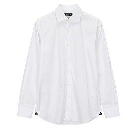 <THOMAS MASON>포멀 솔리드 드레스 셔츠