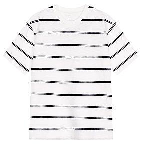 핀스트라이프 티셔츠