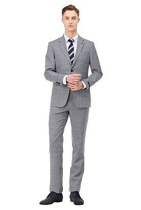 [FORMAL] 배색 레지멘탈 패턴 넥타이