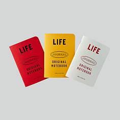 LIFE LOGO B6 NOTE(3SET)_라이프 로고 B6 노트(3개입)