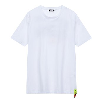백 웨이브 그래픽 와펜 티셔츠