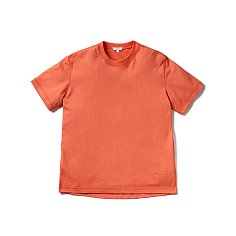 LOUISE HALF SLEEVE TEE-HOT CORAL
