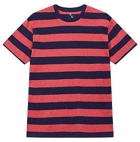 멜란지 스트라이프 티셔츠