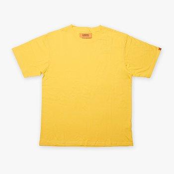 UNIVERSAL PLAIN T-SHIRT YELLOW 유니버셜 오버롤 유니버셜 플레인 티셔츠
