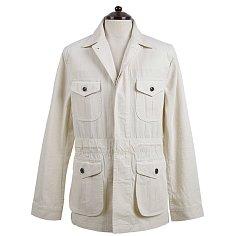 20s HBT Cotton Fatigue Jacket (Ivory)
