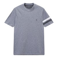 더블 라인 반팔 티셔츠