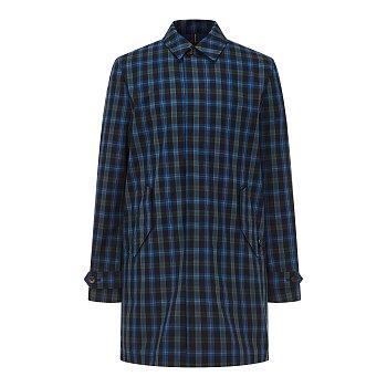 [PS PAUL SMITH] 체크 패턴드 히든 코트