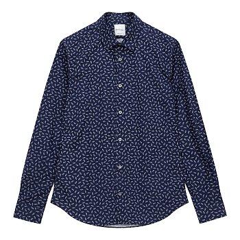 미니 카 패턴 셔츠