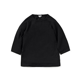 LOUISE RAGLAN TEE-BLACK