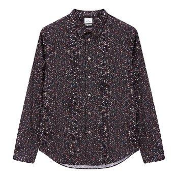 [PS PAUL SMITH]멀티 컬러 그래픽 코튼 셔츠