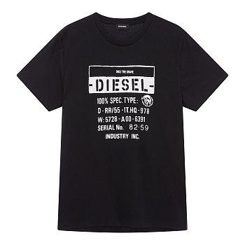 디에고 레터링 그래픽 반팔 티셔츠