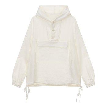 [REGULATION]린넨 포켓 후드 셔츠