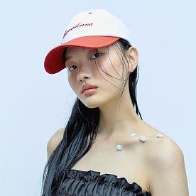 FLEAMADONNA COLOR LOGO CAP-RED
