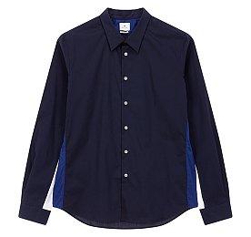 [PS PAUL SMITH]사이드 컬러 블록 캐주얼 셔츠