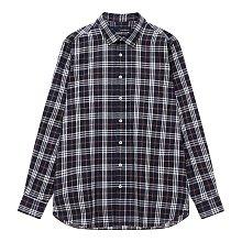체크 소프트 코튼 셔츠