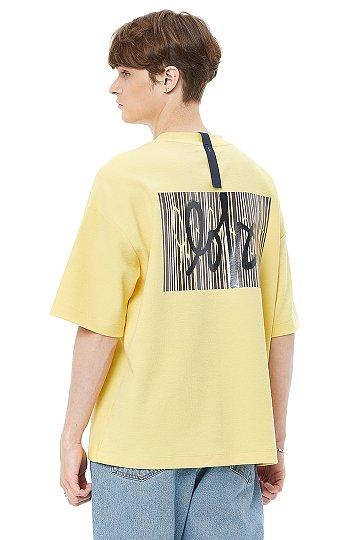 ★셀럽 착용★ [LOVE] 백 프린트 자수 반팔 티셔츠
