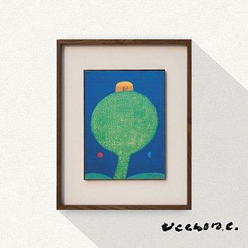 장욱진, 나무 木 / A Tree