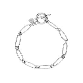Flow Round Chain Bracelet_SILVER