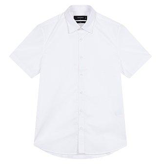 [FORMAL] 레귤러 카라 스판 반팔 셔츠