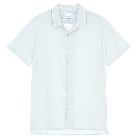 [PS PAUL SMITH] 패턴드 캐주얼 핏 하프 셔츠