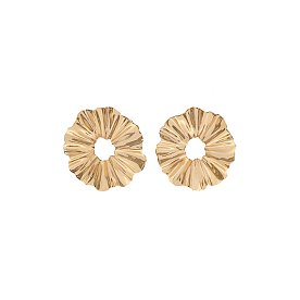 Joli Small Flare Earrings_GOLD