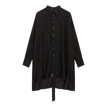 [REGULATION]버튼업 홀릭 롱 셔츠