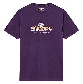 스누피 그래픽 티셔츠