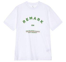 레터링 그래픽 티셔츠