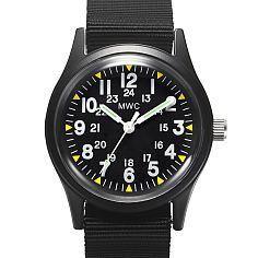 엠더블유씨 베트남전 미군 시계 - 블랙