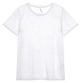 린넨 솔리드 티셔츠