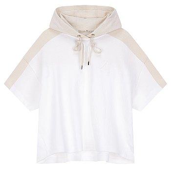 [THE RETRO CLUB] 루시 스트링 후드 티셔츠