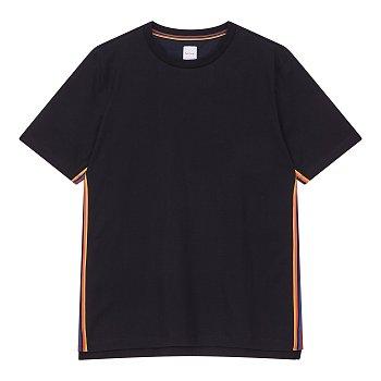 레인보우 라인 반팔 티셔츠