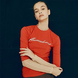 FLEAMADONNA LOGO TOP(RED)
